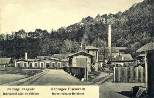 Nadrág:vasgyár,iaparvasúti gépház és fűtőház.1907