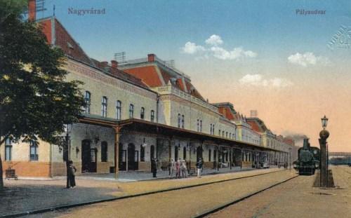 Nagyvárad:pályaudvar (vasútállomás).1913