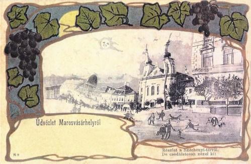 Marosvásárhely:Széchenyi tér.1901