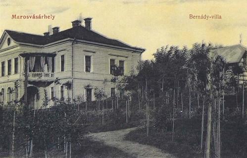 Dr.Bernády György polgármester villája.1908