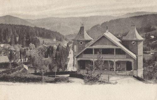 Borszék:Dr.Szini János gyógyszerész villája.1904