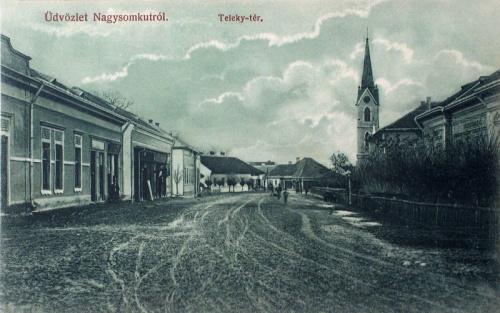 Nagysomkut:Teleky tér.1910