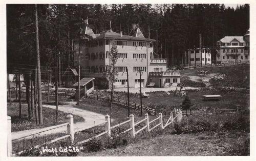 Borszékfürdő:Wolf-MÁV üdülő szálló.1943