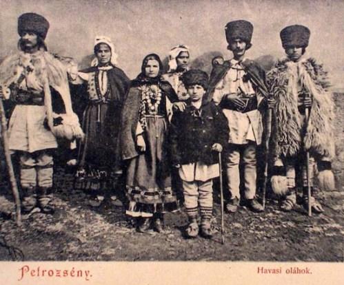 Petrozsény:havasi oláhok.1903