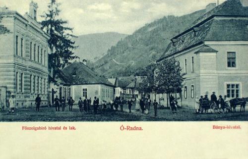 Ó-Radna:Bányahivatal,Főszolgabirói lak.1901