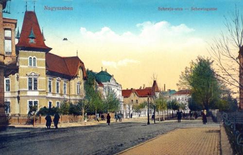 Nagyszeben:schewis utca.1916