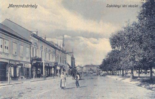 Marosvásárhely:Széchenyi téri részlet.1908