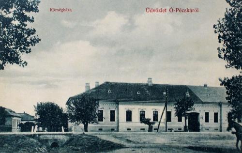 Pécska:Községháza.1908