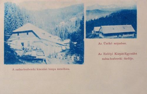 Radnaborberek:kincstári bánya mosóháza,Ünökő.1900