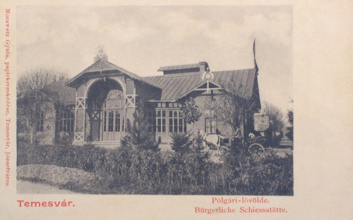 Temesvár:polgári lövölde.1902