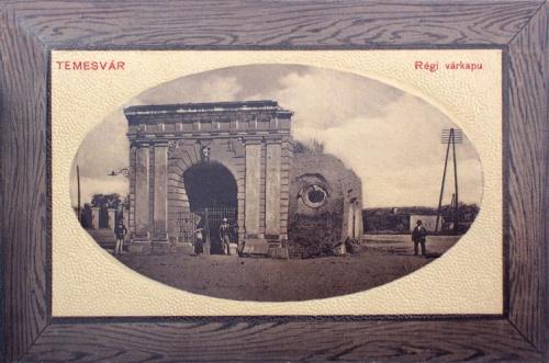 Temesvár:régi várkapu.1911
