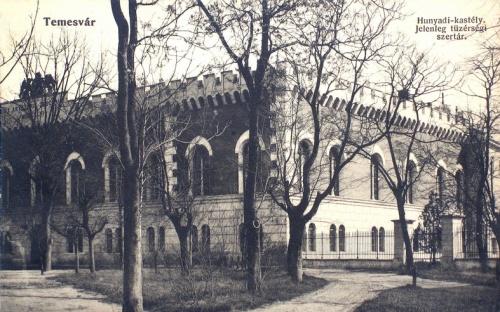 Temesvár:Hunyadi kastély,tűzérségi szertár.1912
