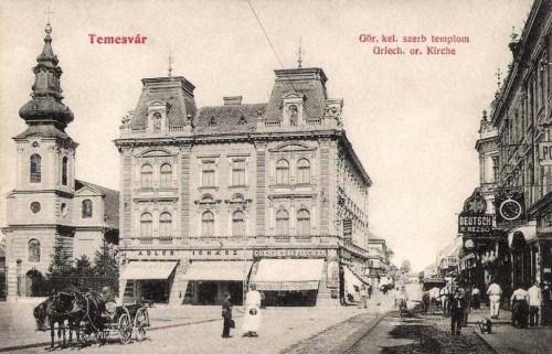 Temesvár:görög keleti szerb templom.1909