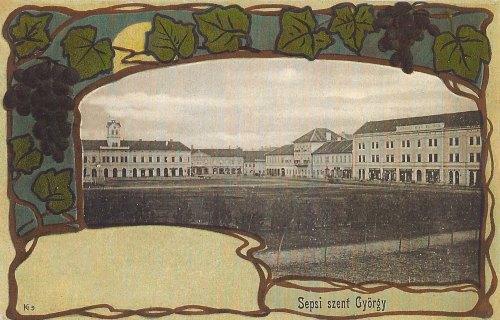 Sepsiszentgyörgy:főtér.1901