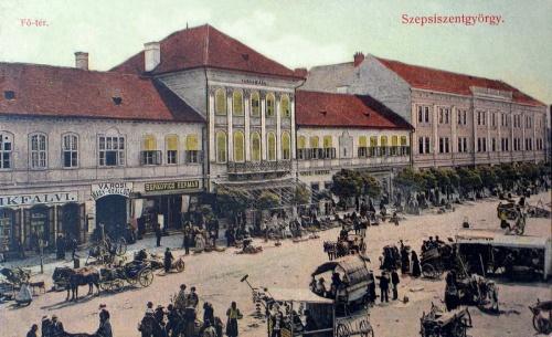 Sepsiszentgyörgy:városháza,nagy szálloda.1910