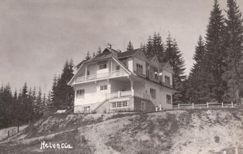 Borszék:Helvétia ( Svájc) villa,ma Veverita( Mókus).1937