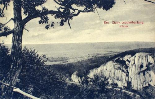 Rév:Zichy csepkőbarlang.1910