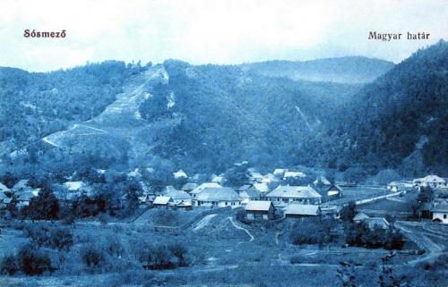 Sósmező:magyar-román határ.1914