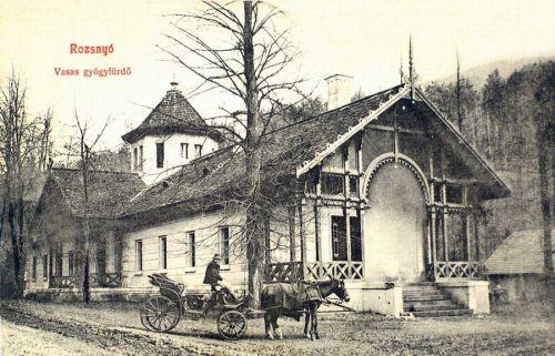 Rozsnyó:vasas gyógyfürdő.1908