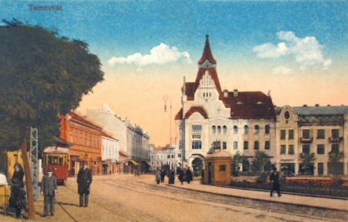 Temesvár:körút.1915