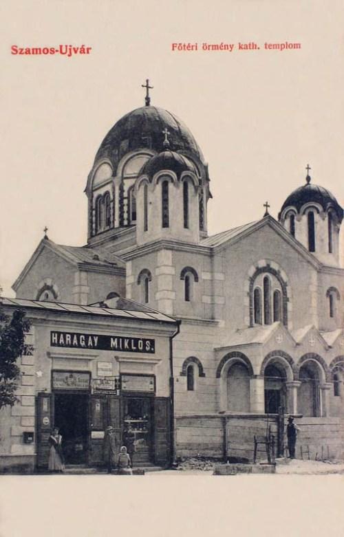 Szamosújvár:örmény katolikus templom.1909