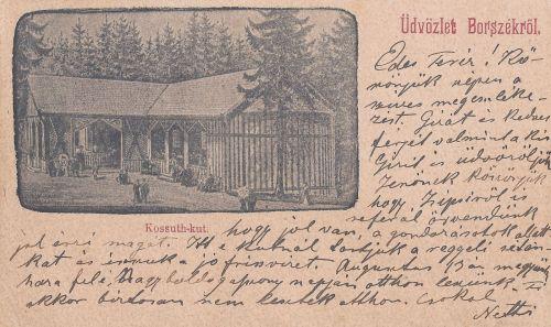 Borszék:Kossuth kút.1899