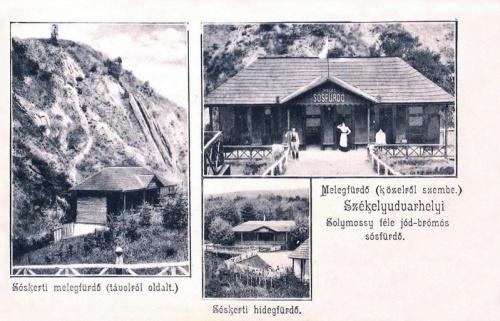 Székelyudvarhely:Solymossy fürdő.1904