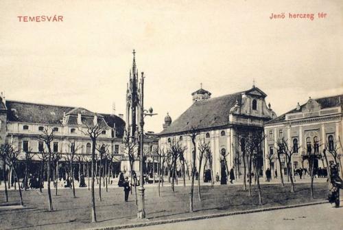 Temesvár:Jenő herceg tér.1910