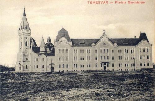 Temesvár:Piarista Gimnázium.1910