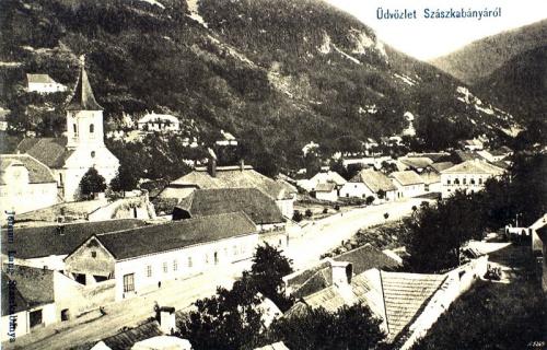 Szászkabánya:látkép.1911