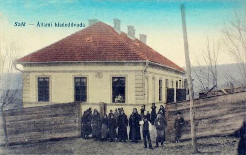 Szék:Állami kisded-óvoda.1916