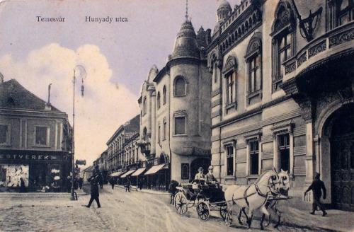 Temesvár:Hunyadi utca.1911