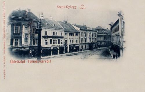 Temesvár:Szent György tér.1899