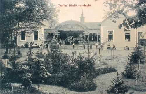 Tenke-fürdő:vendéglő.1908