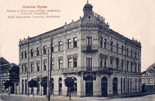 Temesvár:Royal szálloda.1912