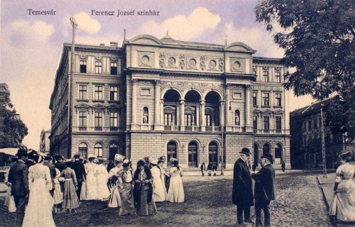 Temesvár:Ferenc József szinház.1911