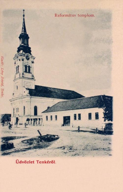 Tenke:református templom.1901
