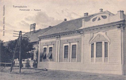 Temeskubin:posta.1912