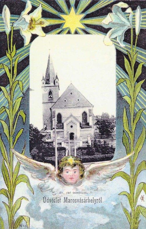Marosvásárhely:református templom.1901