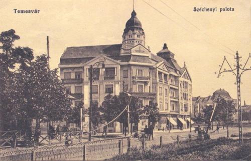 Temesvár:Széchenyi palota.1915