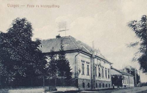 Világos:Posta és Közjegyzőség.1909