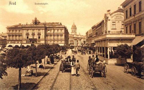 Arad:Szabadság tér.1907