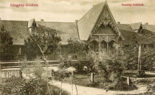 Görgény-sóakna:vendég lakások.1912
