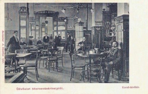 Marosvásárhely:Corso kávéház.1905