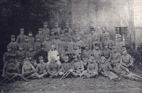 Marosvásárhelyi 23 vadász zászlóalj,1914-ben.