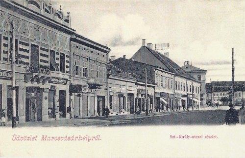 Marosvásárhely:Marosszentkirály(Kossuth) utca.1902