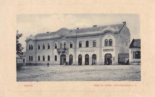 Zsibó:Takarékpénztár.1912