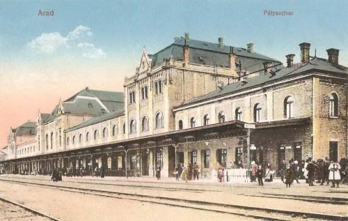 Arad:pályaudvar.1912