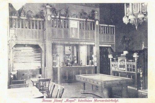 Marosvásárhely,Royal kávéház 1911