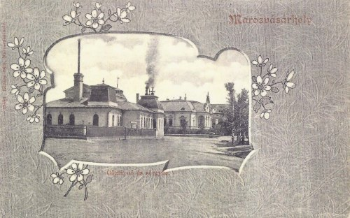 Marosvásárhely,gőzfürdő és sörgyár 1903